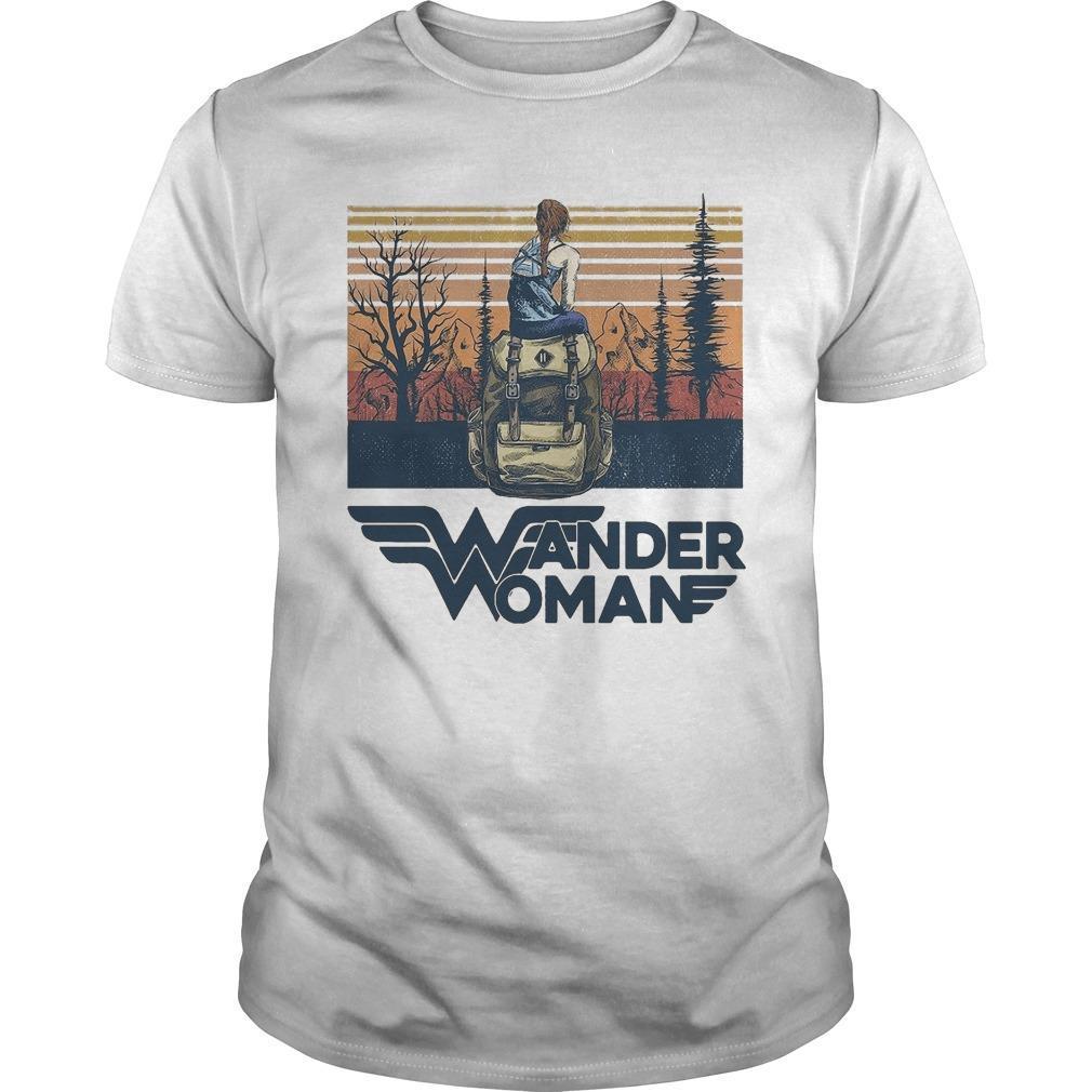 Vintage Camping Wander Woman Shirt