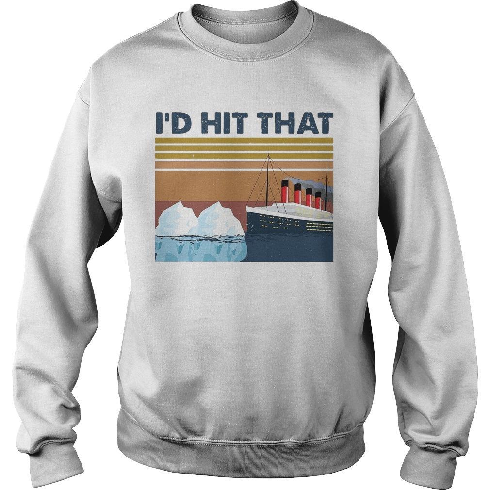 Vintage Titanic I'd Hit That Sweater