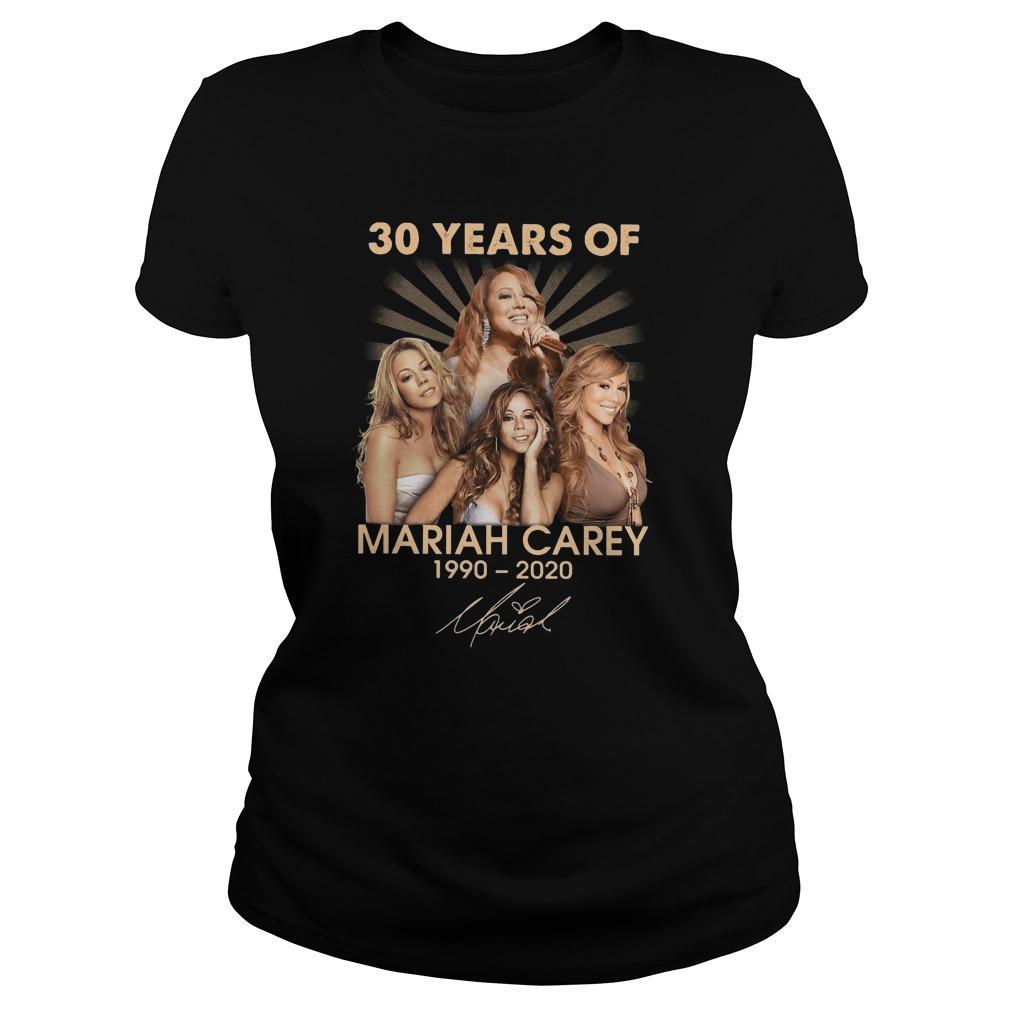 30 Years Of Mariah Carey 1990 2020 Hoodie