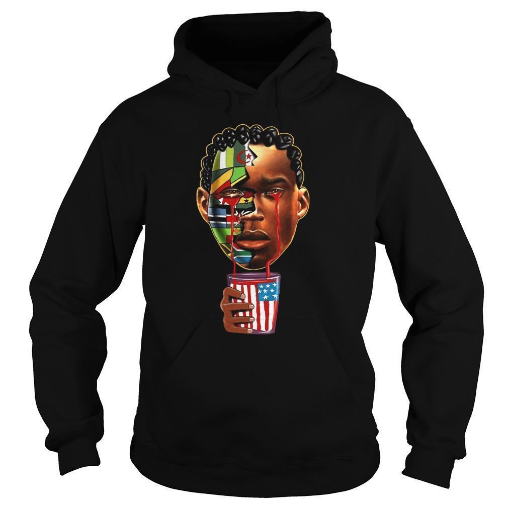 American Black African Hoodie