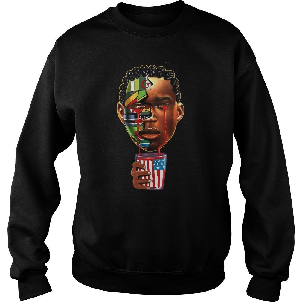 American Black African Sweater