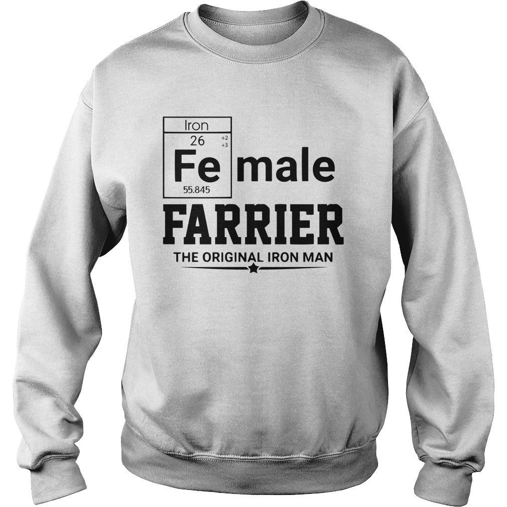 Female Farrier The Original Iron Man Sweater