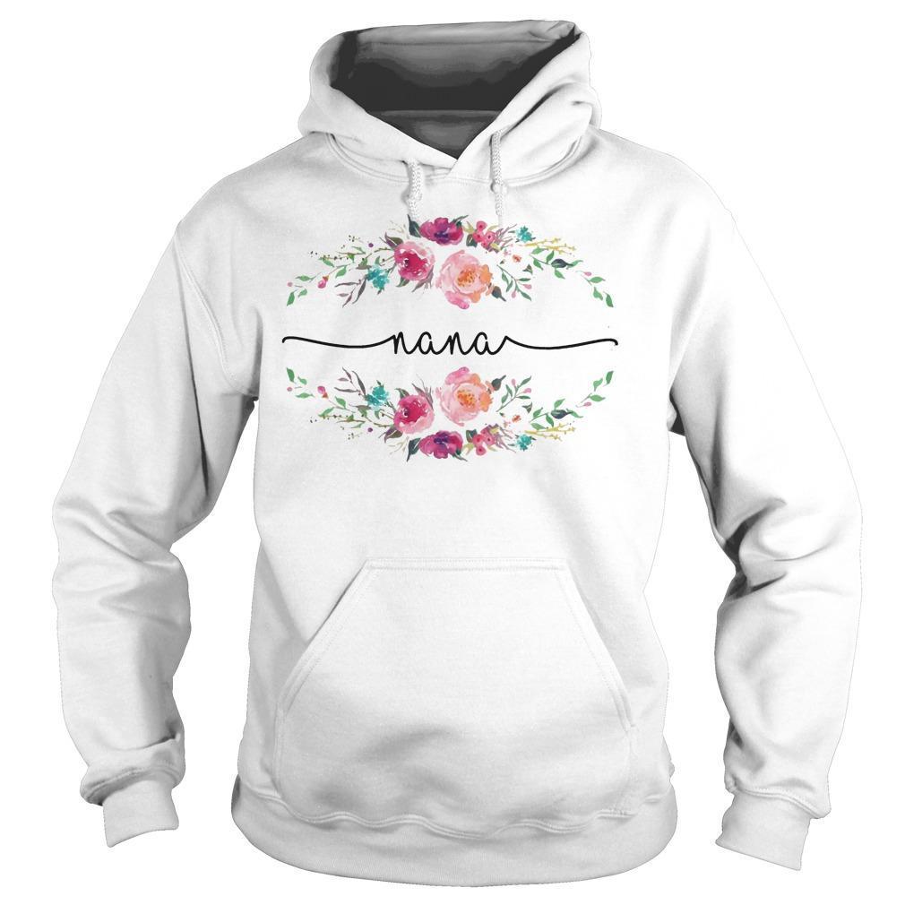 Flower Nana Hoodie
