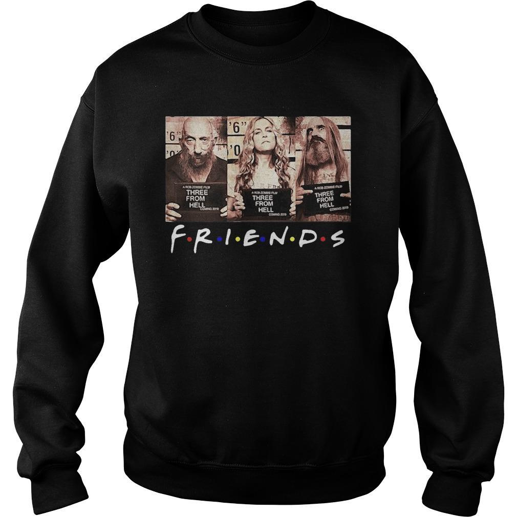 Friends Three From Hell Sweater