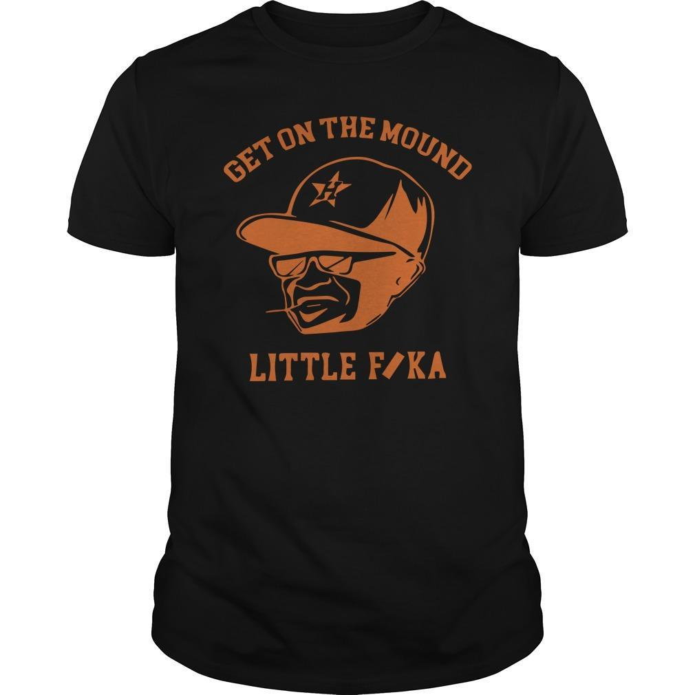 Get On The Mound Little Fuka Shirt