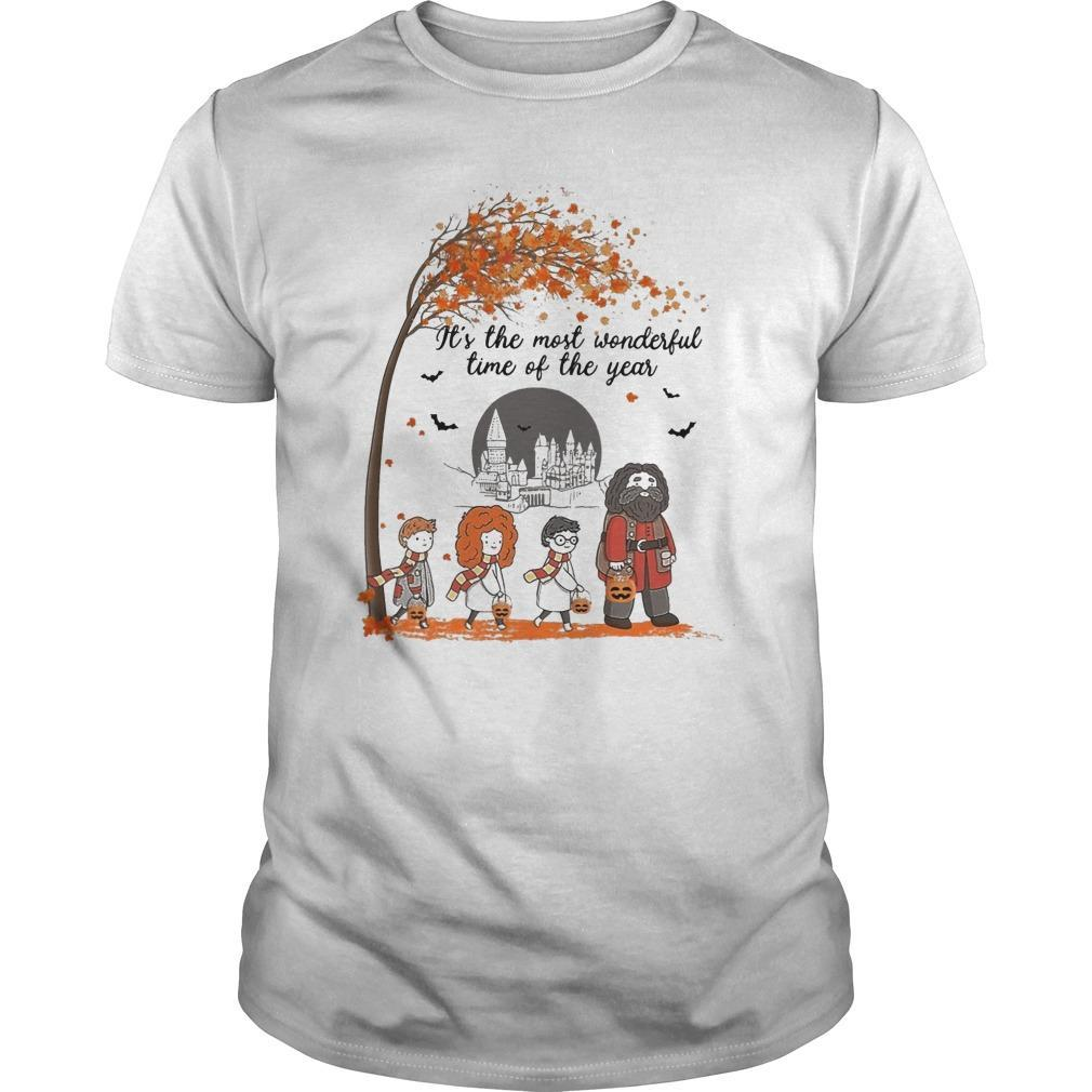 Halloween Harry Potter It's The Most Wonderful Time Of The Year Shirt