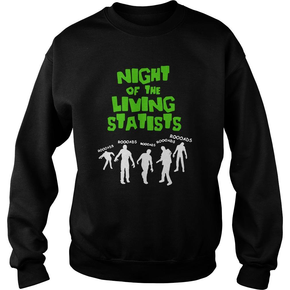 Night Of The Living Statists Sweater