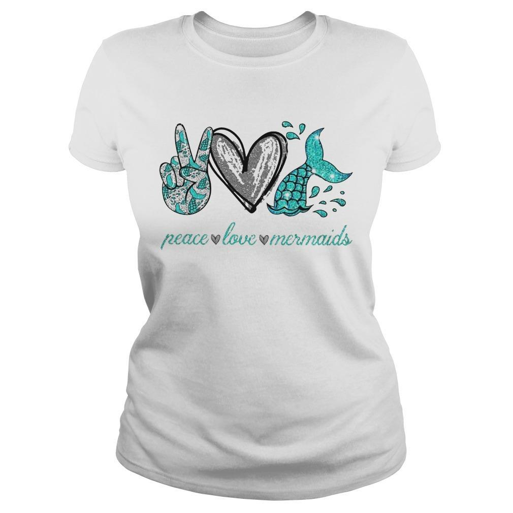Peace Love And Mermaid Longsleeve