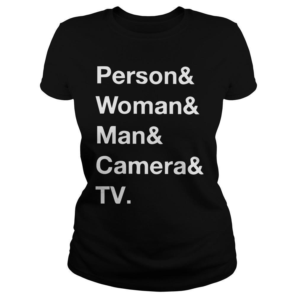 Person Woman Man Camera T Longsleeve
