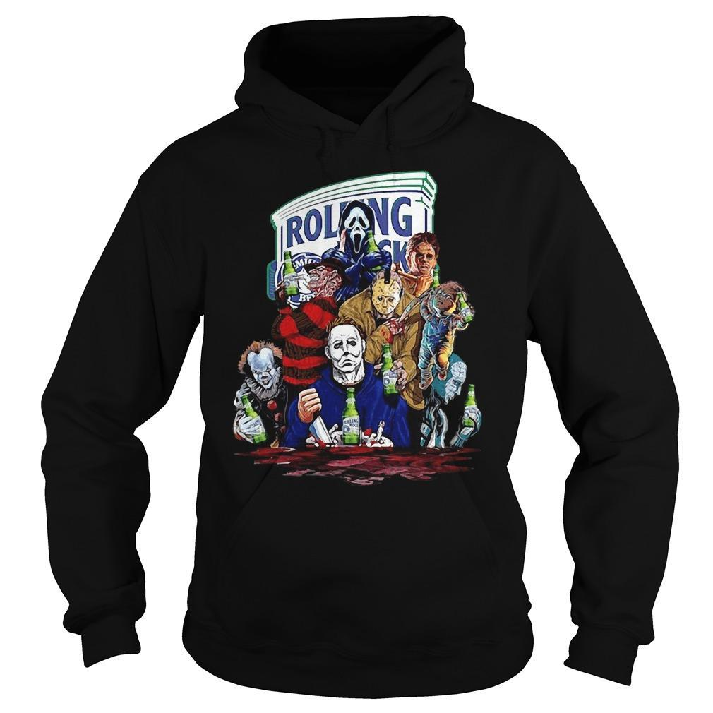 Rolling The Horror Characters Hoodie