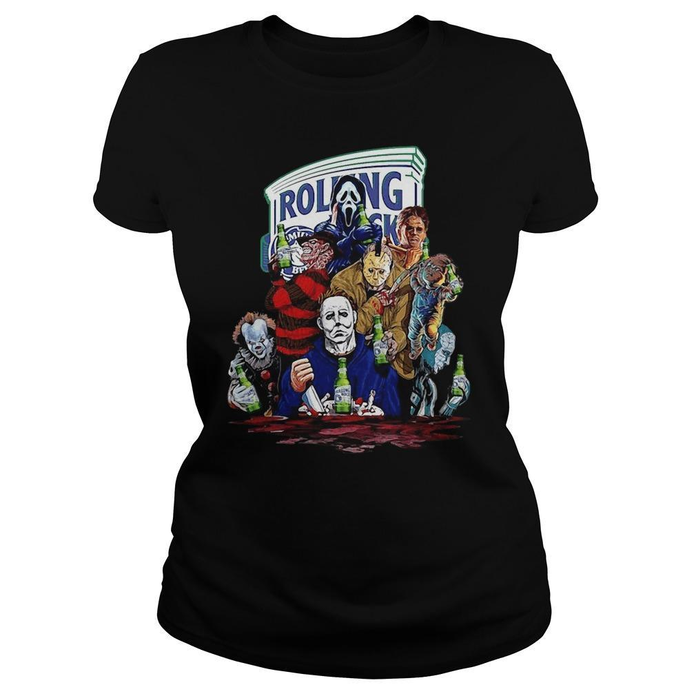 Rolling The Horror Characters Tank Top