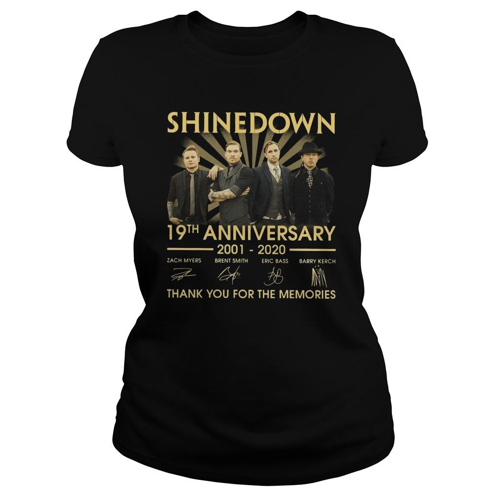 Shinedown 19th Anniversary Thank You For The Memories Longsleeve