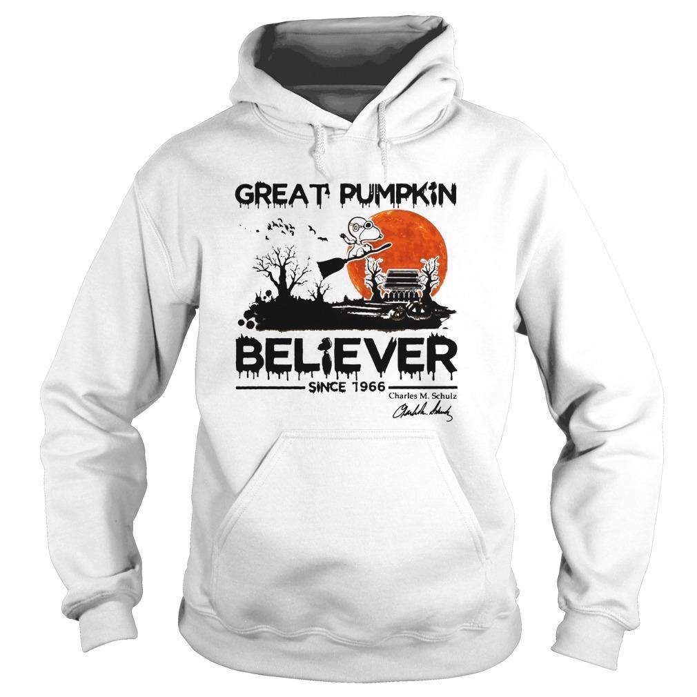 Snoopy Great Pumpkin Believer Since 1966 Hoodie