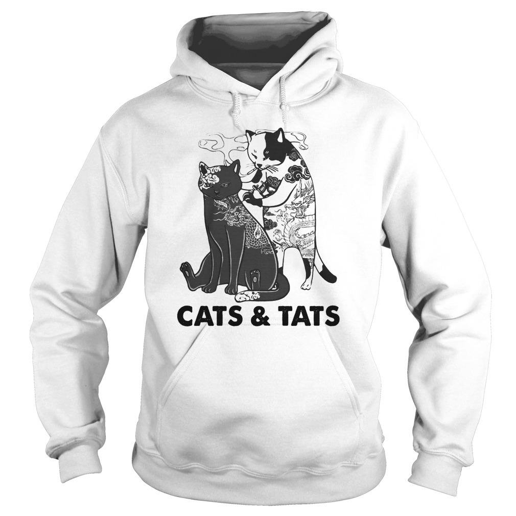 Tattoos Cats And Cats Hoodie