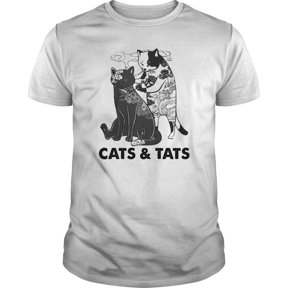 Tattoos Cats And Cats Shirt