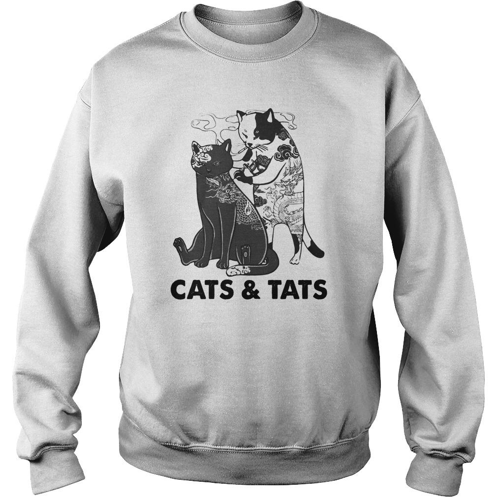 Tattoos Cats And Cats Sweater