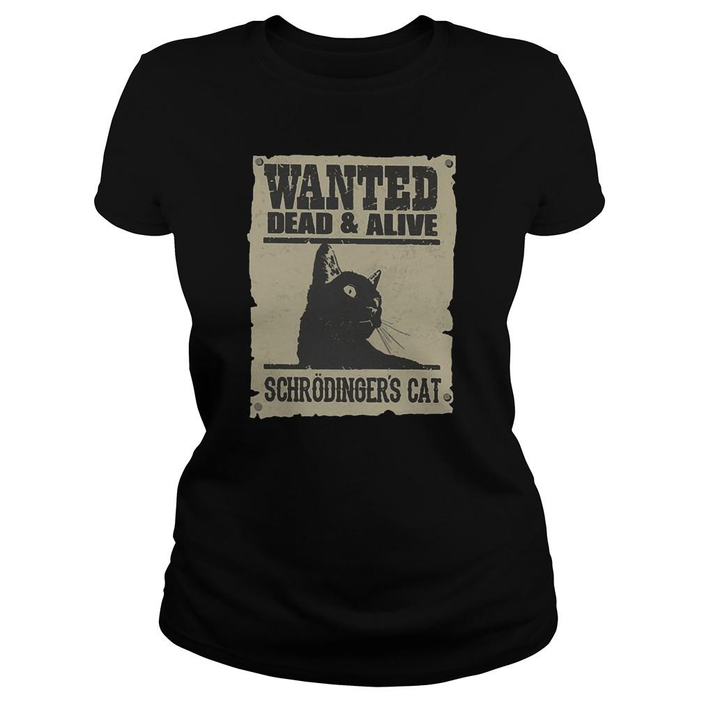 Wanted Dead And Alive Schrödinger's Cat Longsleeve
