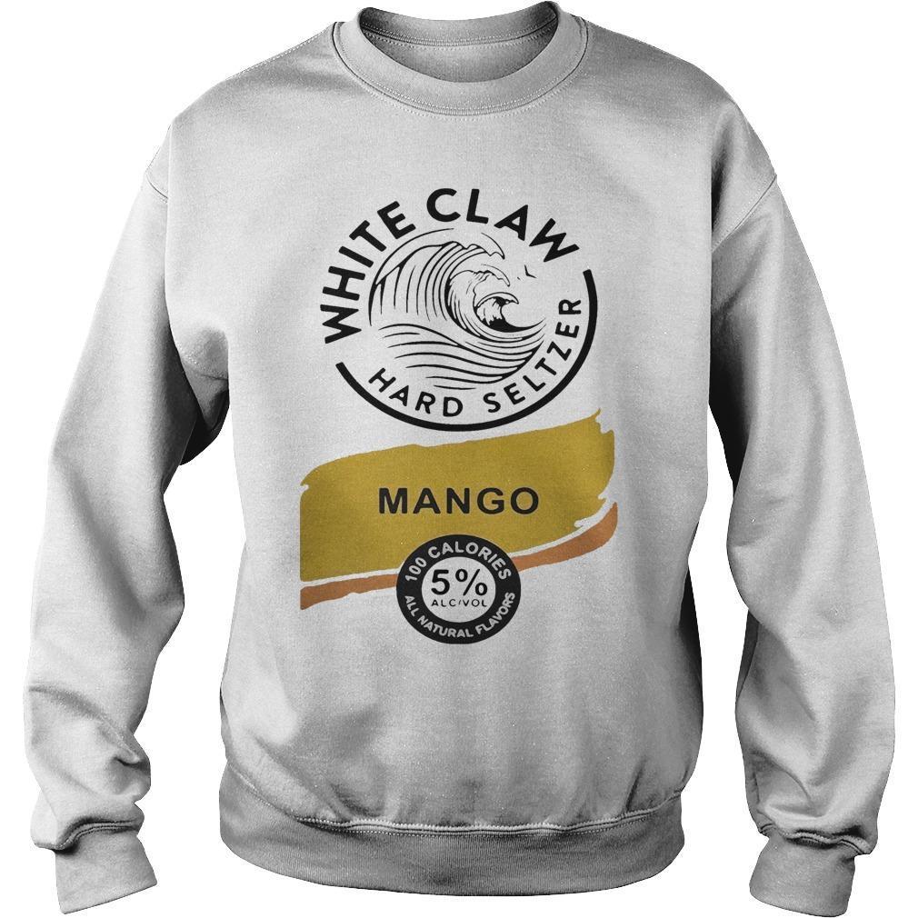 White Claw Hard Seltzer Mango Sweater
