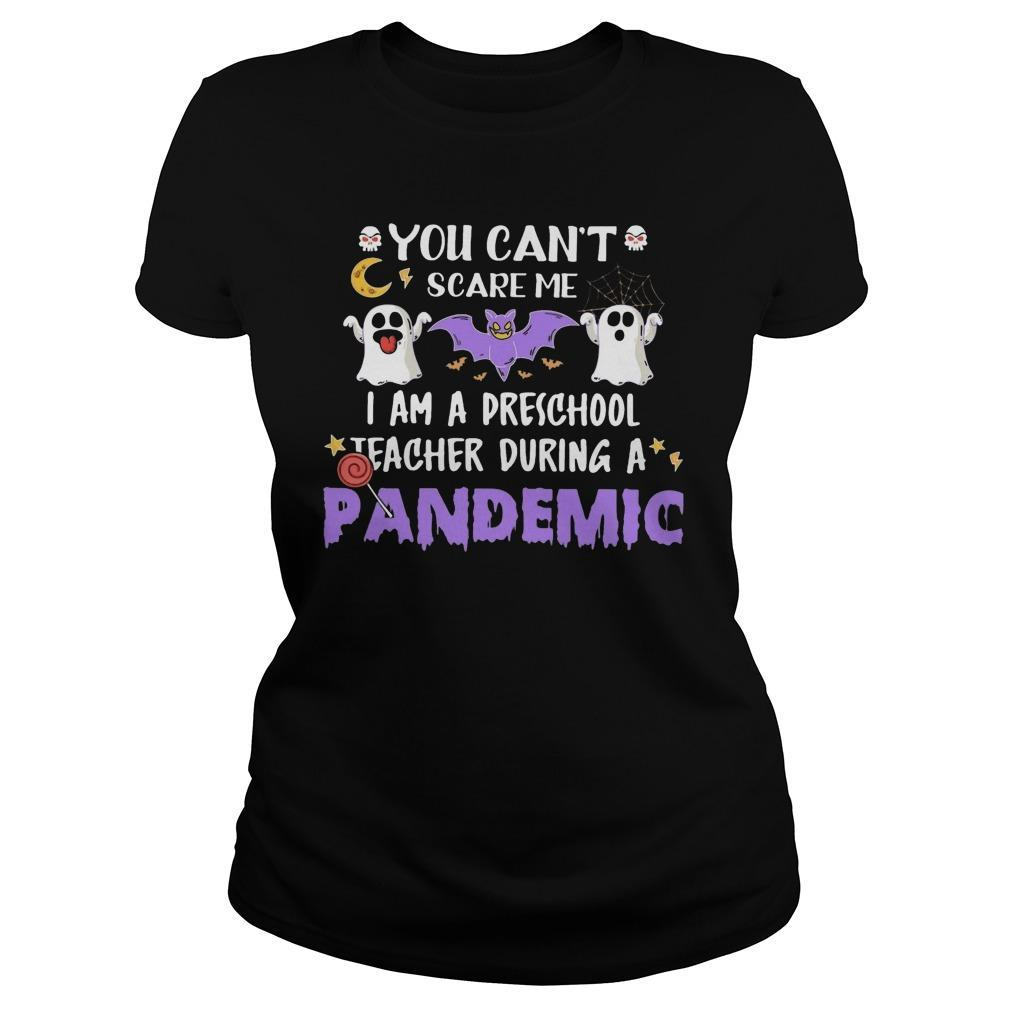 You Can't Scare Me I Am A Preschool Teacher During A Pandemic Hoodie