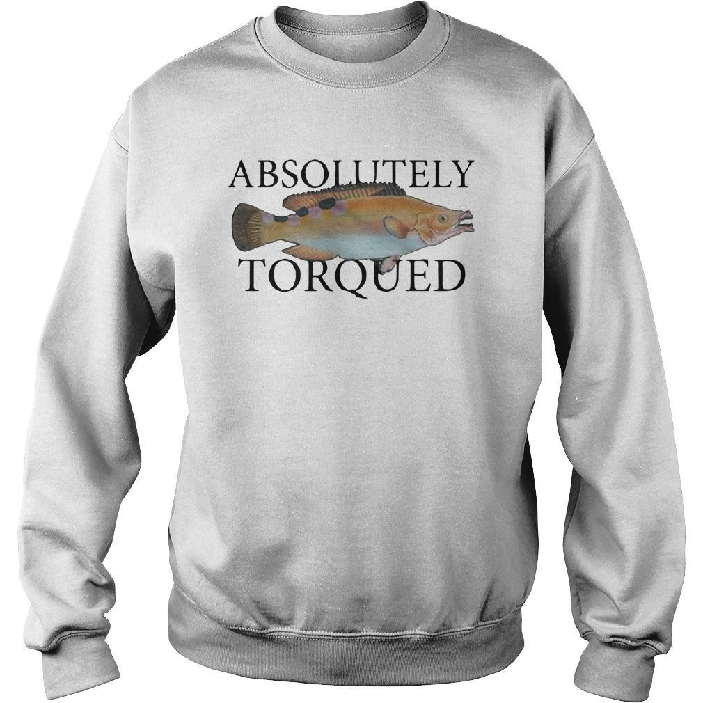 Absolutely Torqued Fish Sweater