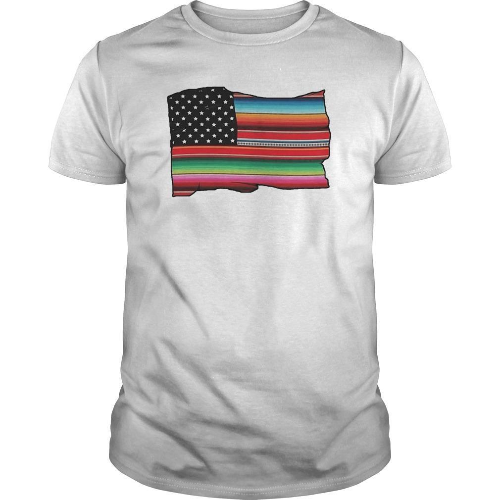 American Flag Cultura Pride Shirt
