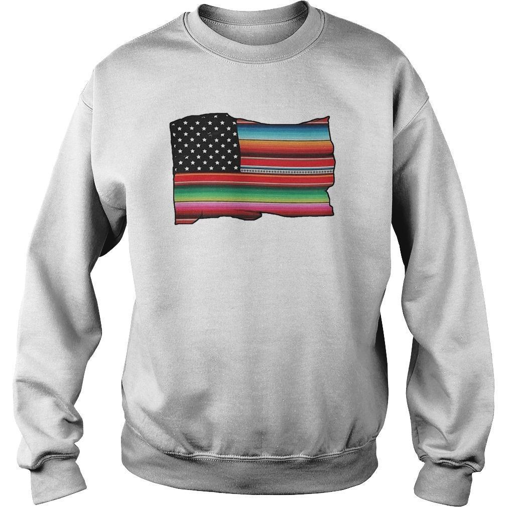 American Flag Cultura Pride Sweater
