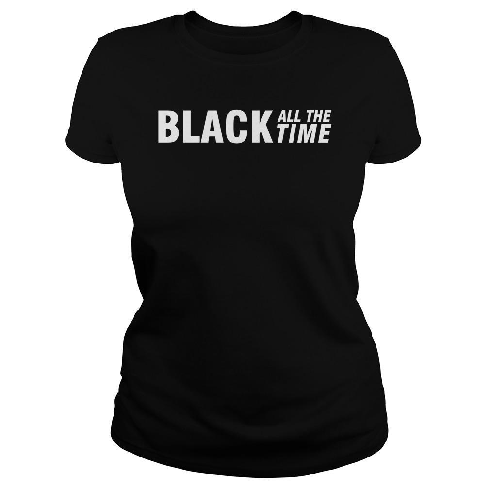 Black All The Time Hoodie