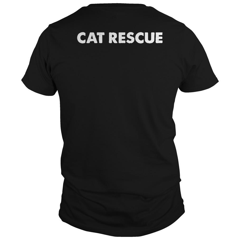 Cat Man Chris Cat Rescue Shirt