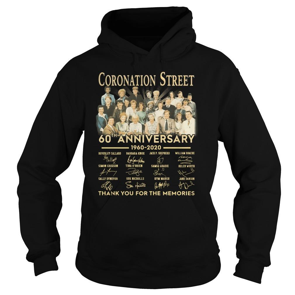 Coronation Street 60th Anniversary Thank You For The Memories Hoodie