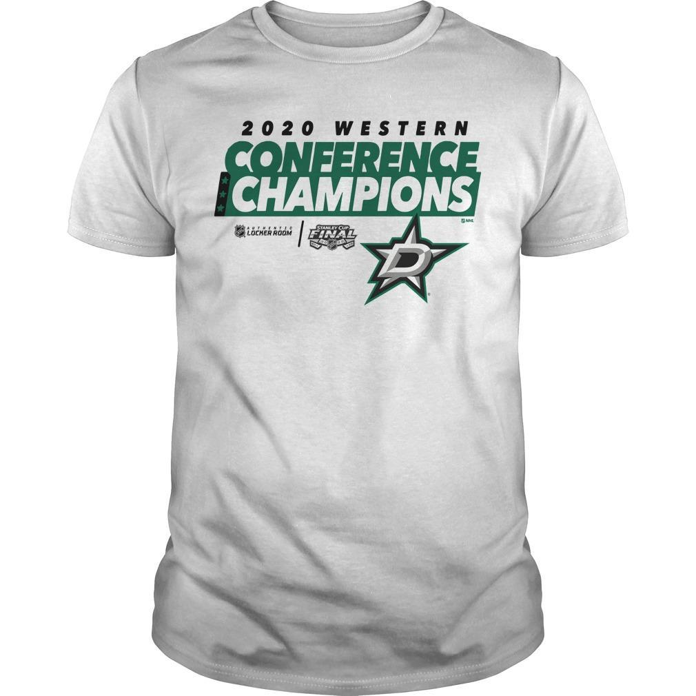 Dallas Stars 2020 Western Conference Champions Shirt