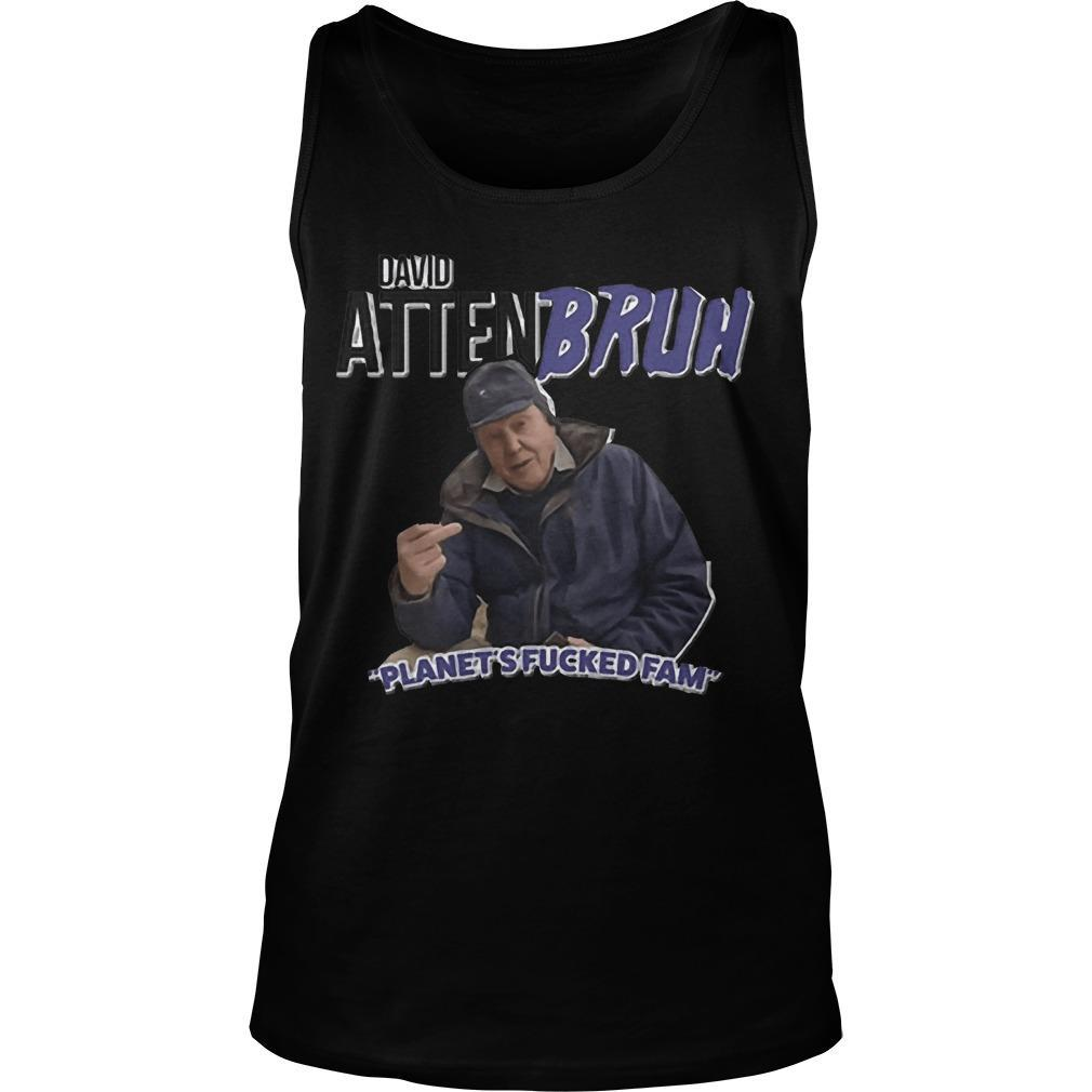 David Attenbruh Planet's Fucked Fam Tank Top
