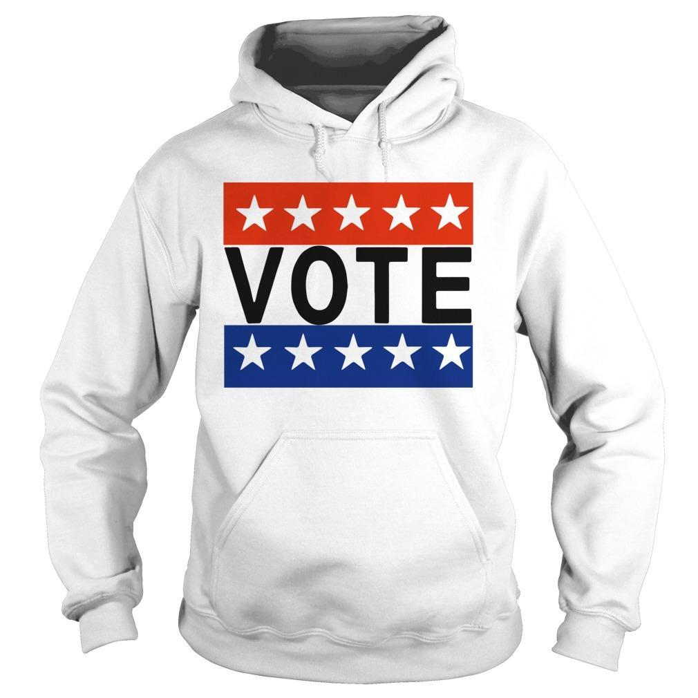 Election Day Rock The Vote T Hoodie