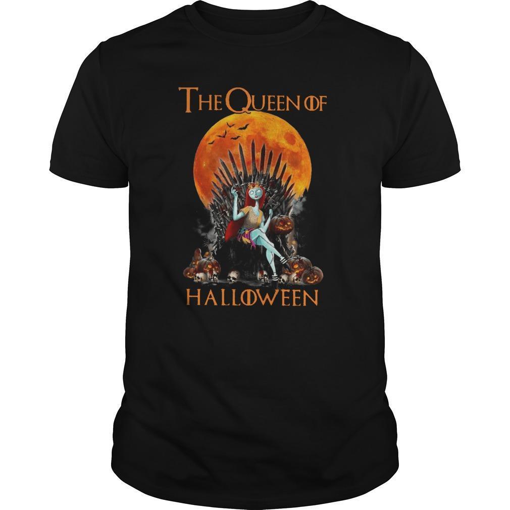 Iron Throne The Queen Of Halloween Shirt