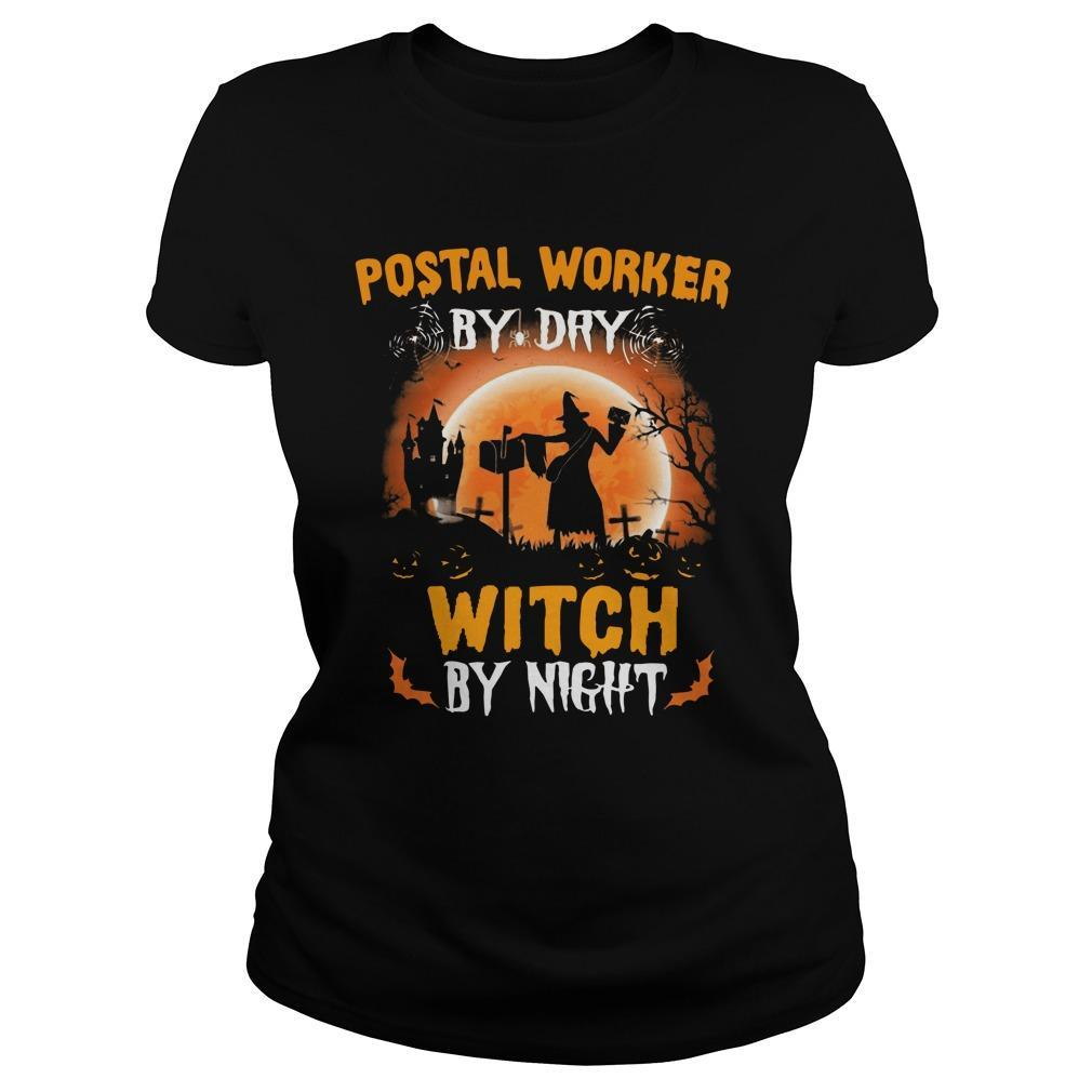 Postal Worker By Day Witch By Night Longsleeve