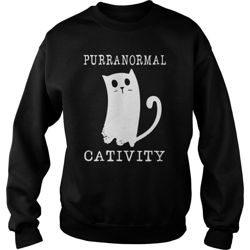 Purranormal Cativity Sweater