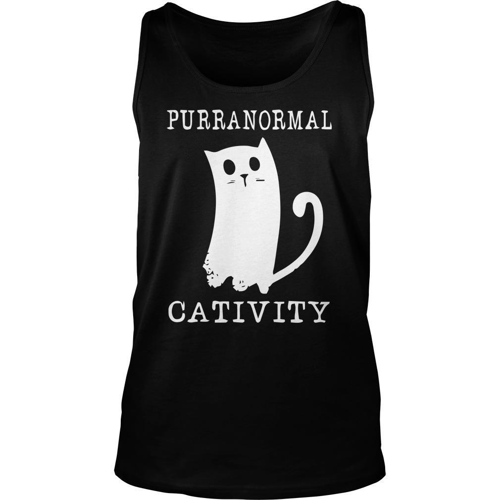 Purranormal Cativity Tank Top