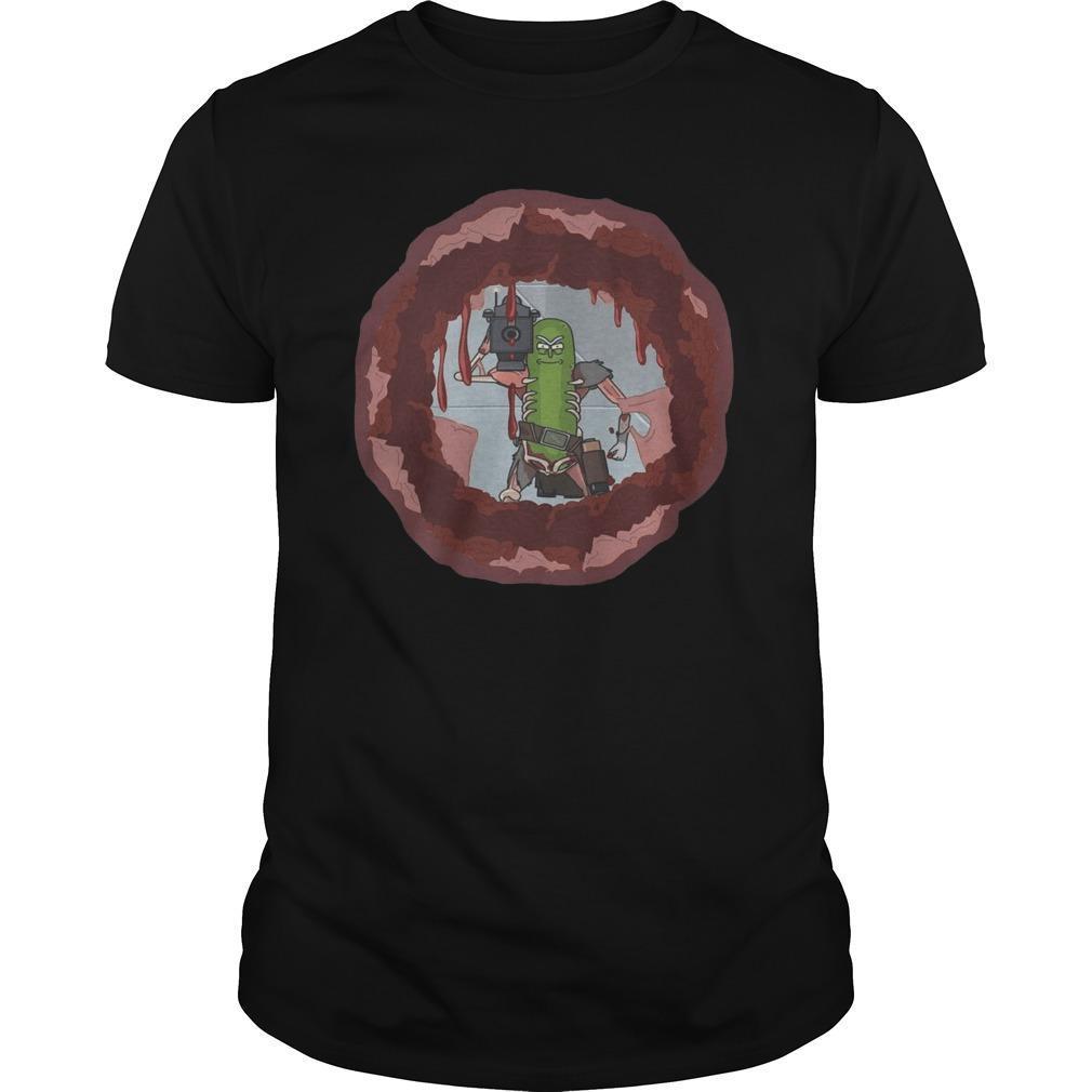 Rick And Morty Donuts Shirt