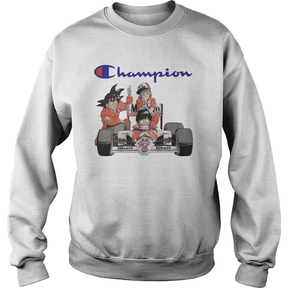 Son Goku Son Gohan Bulma Champion Sweater