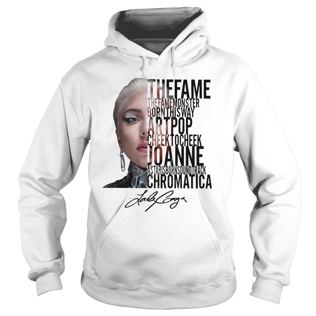 The Fame The Fame Monster Born This Way Art Pop Hoodie