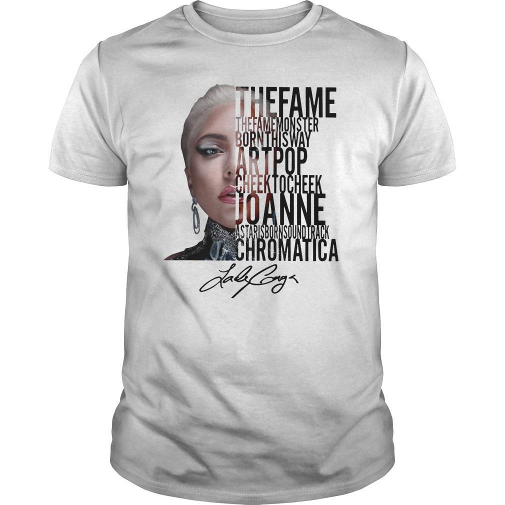 The Fame The Fame Monster Born This Way Art Pop Shirt