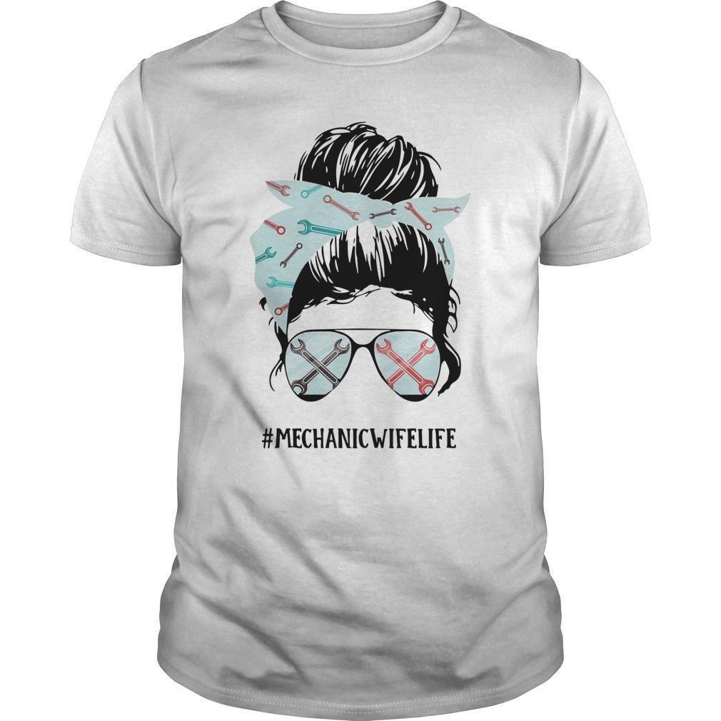 Glasses Girl #mechanicwifelife Shirt