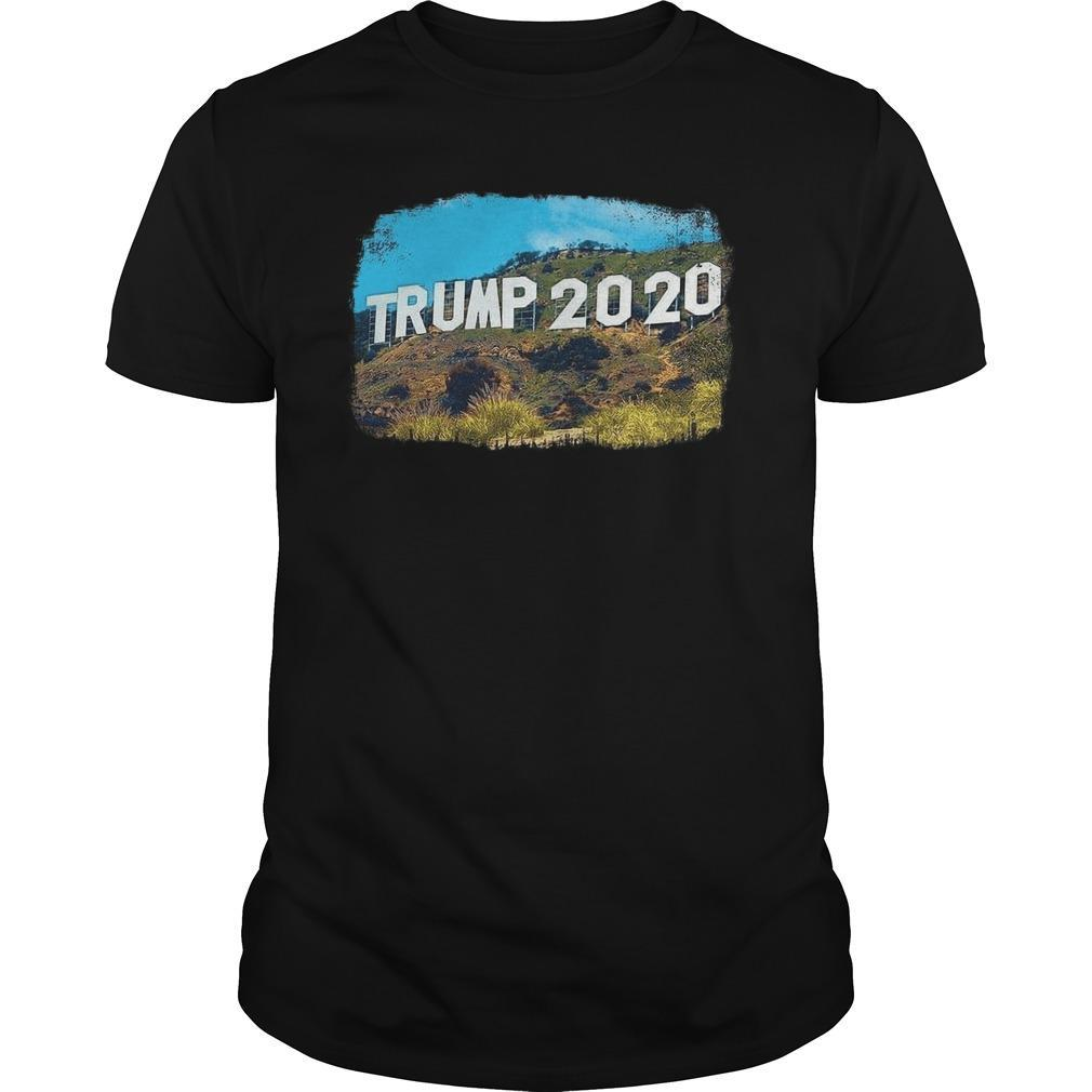 Hollywood Trump 2020 Shirt