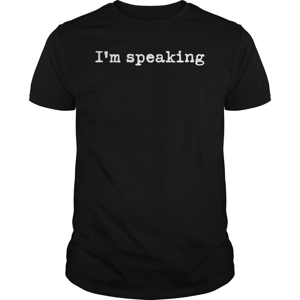 Im Speaking Shirt