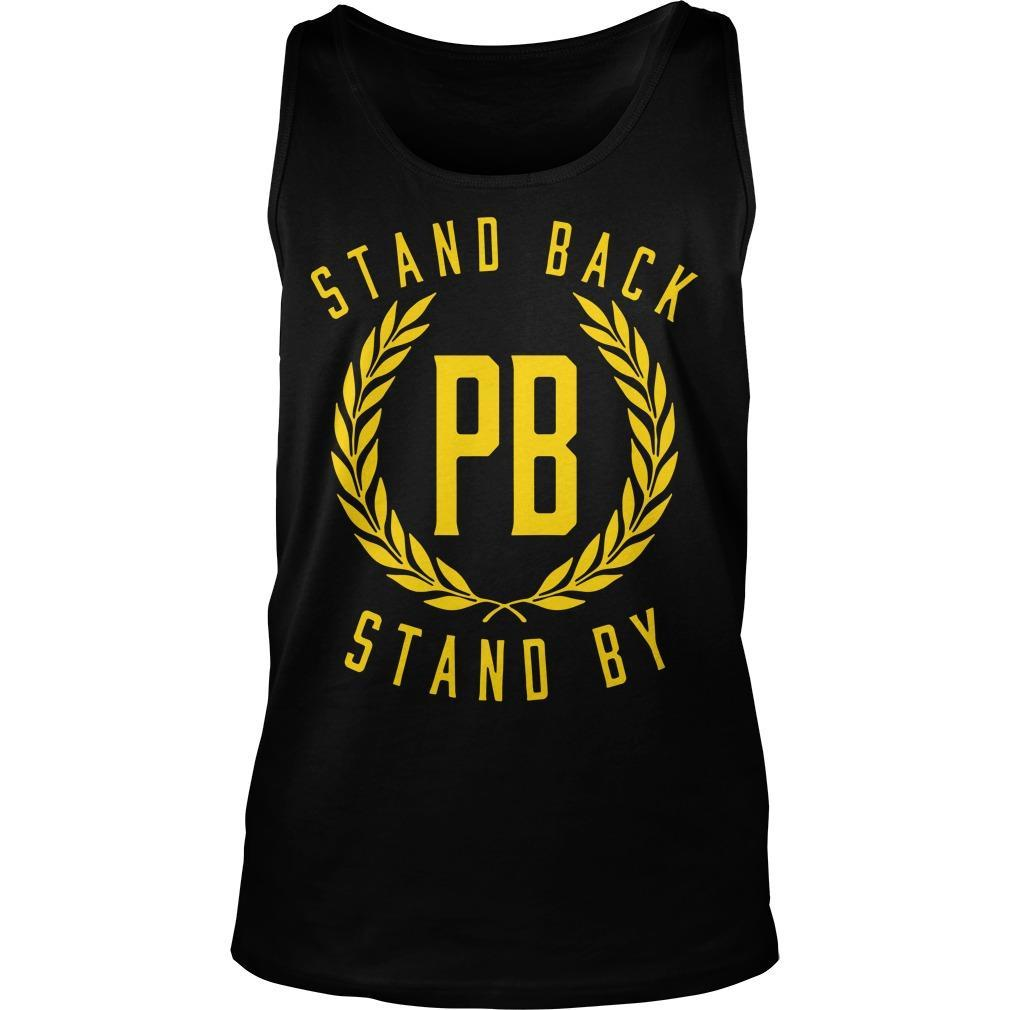 Proud Boys Stand Back Stand By Tank Top