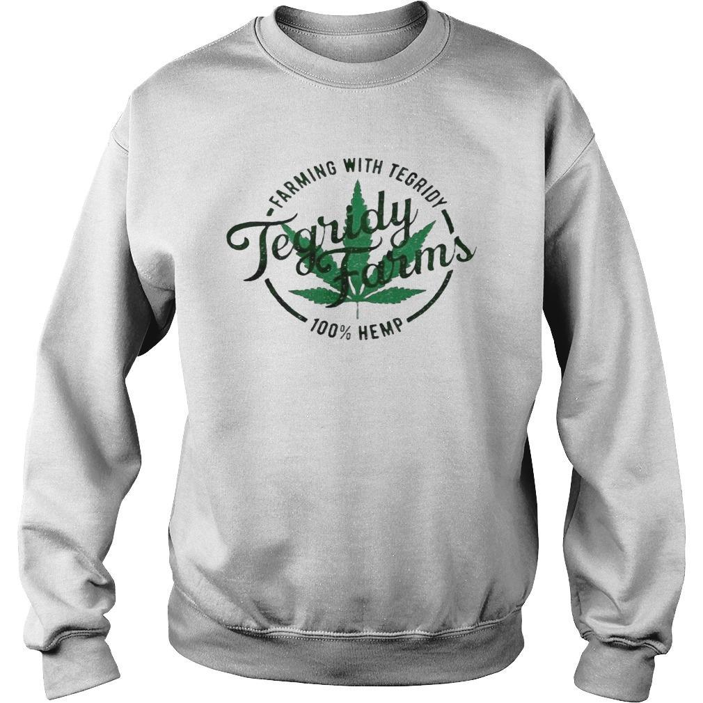 Tegridy Farms Farming With Tegridy 100 Hemp Sweater