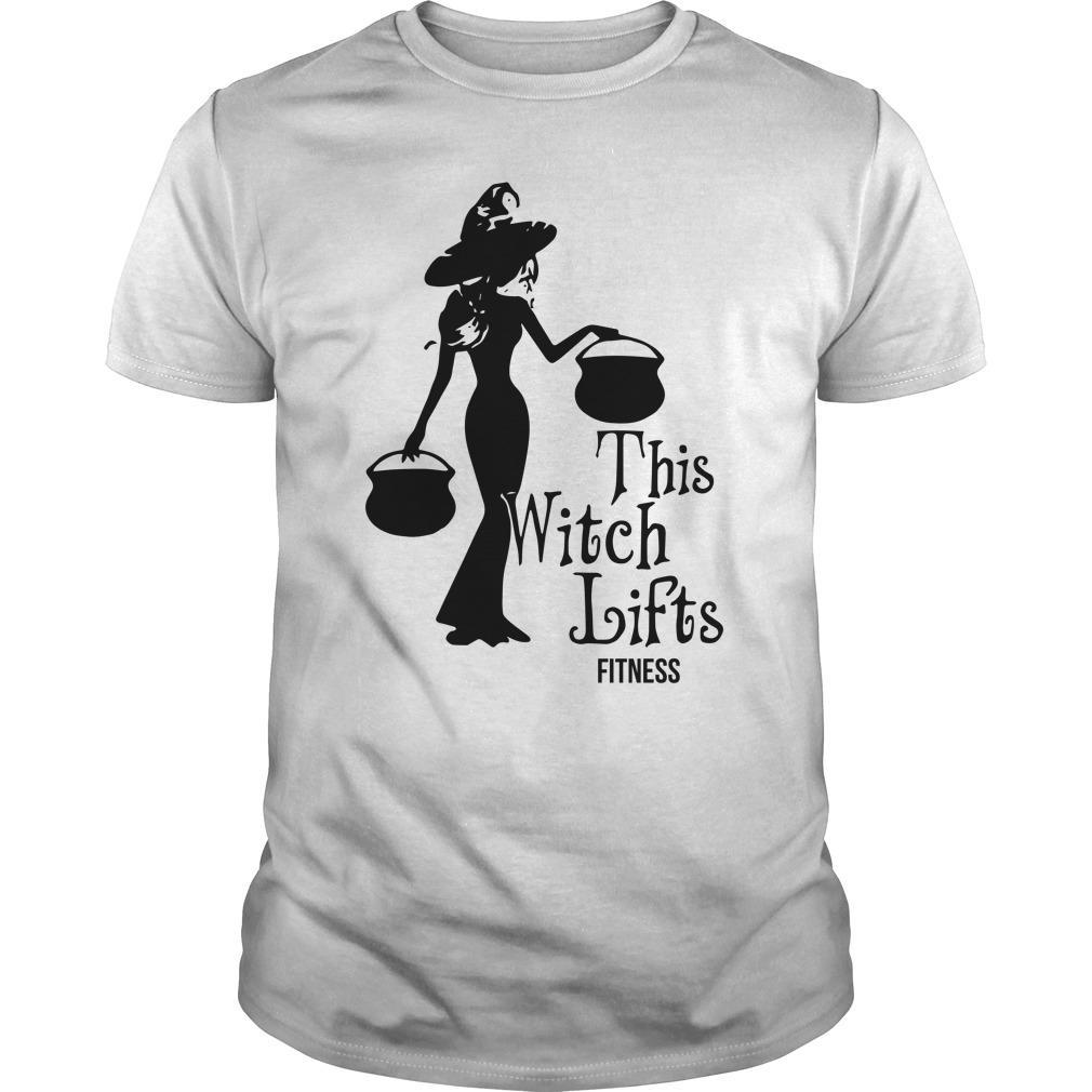 This Witch Lifts Fitness Shirt