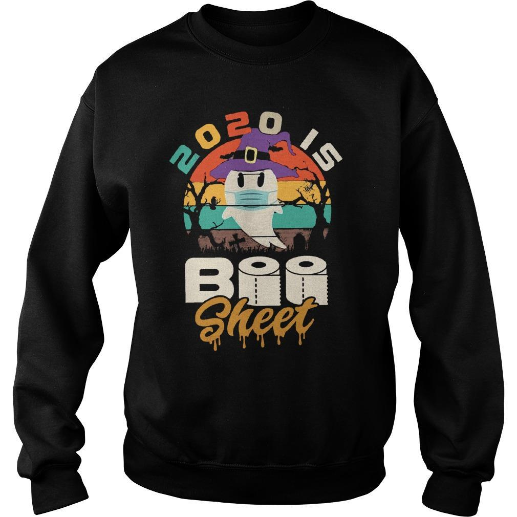 Vintage 2020 Is Boo Sheet Sweater