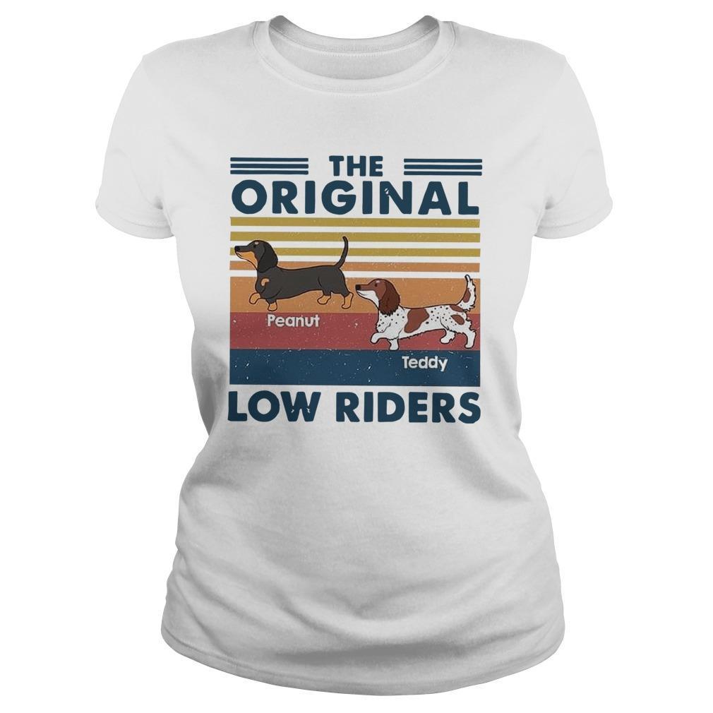 Vintage Dachshund The Original Low Riders Longsleeve