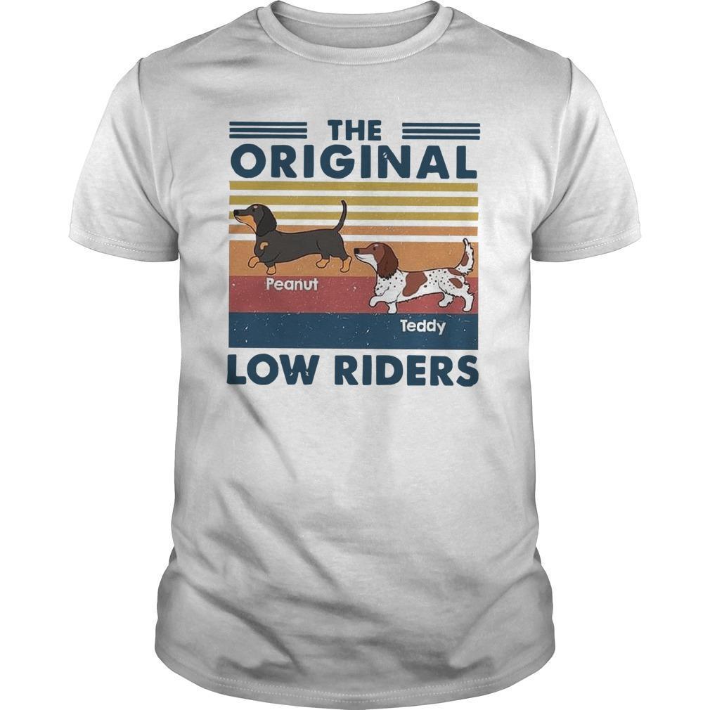 Vintage Dachshund The Original Low Riders Shirt
