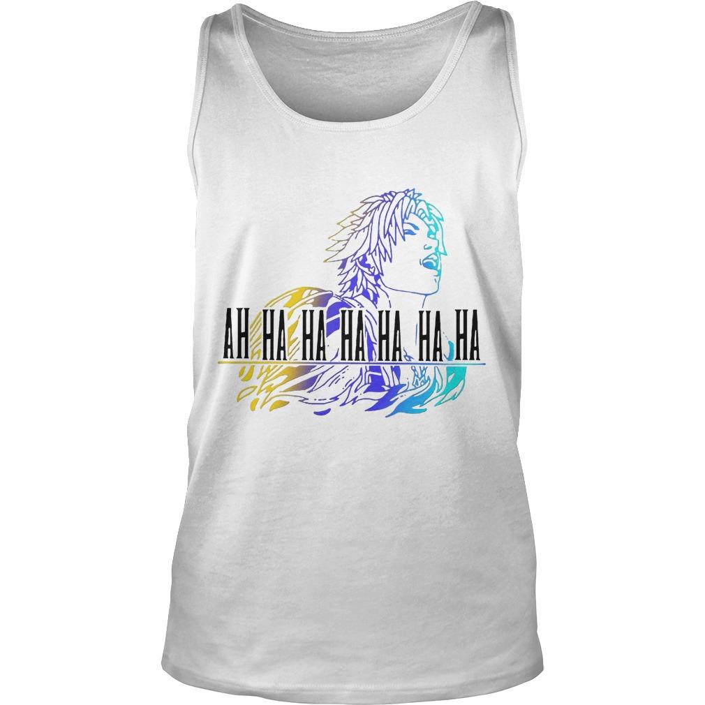 Final Fantasy Tidus Ah Ha Ha Ha Ha Ha Ha Tank Top